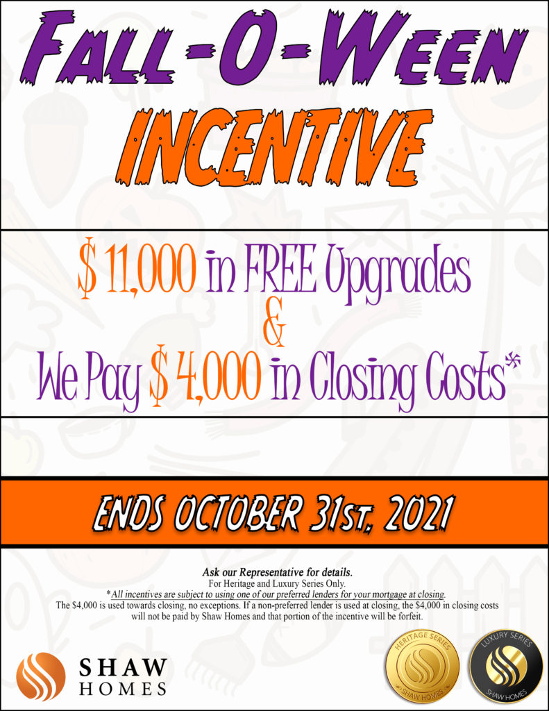 10 October 2021 Incentive Heritage