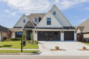 2002 W 113th St, Jenks, OK 74037 In Oak Ridge Of Jenks Shaw Homes, Westport H Elevation B (1)