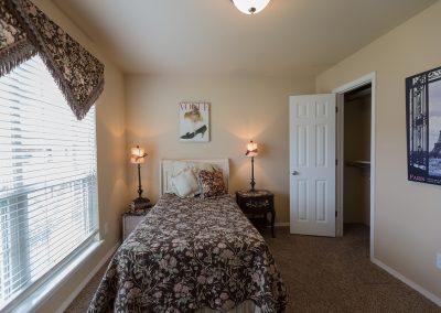 Bedroom 1 3 Shaw New Homes Tulsa 13001 E. 43rd Street South Tulsa, Oklahoma