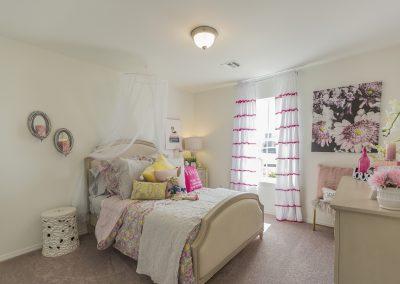 Bedroom 3 Shaw Homes 8201 NW 151st Terrace Jasmine In Twin Silos Oklahoma City, OK