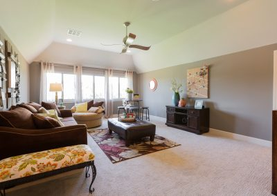 Bonus Room 1 Monroe In The Estates At The River Shaw Tulsa New Home Builder