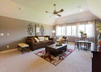 Bonus Room 2 Monroe In The Estates At The River Shaw Tulsa New Home Builder