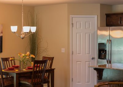 Dining Nook Feature Shaw New Homes Tulsa 13001 E. 43rd Street South Tulsa, Oklahoma