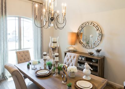 Dining Room 2 Vertical Monroe In The Estates At The River Shaw Tulsa New Home Builder