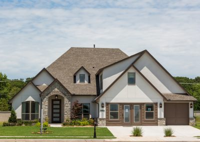 Exterior 1 Monroe In The Estates At The River Shaw Tulsa New Home Builder
