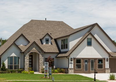 Exterior 2 Monroe In The Estates At The River Shaw Tulsa New Home Builder