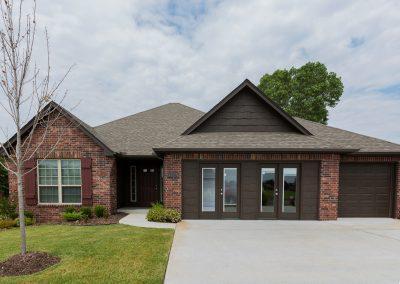 Exterior Day 2 Shaw New Homes Tulsa 13001 E. 43rd Street South Tulsa, Oklahoma