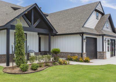 Exterior Front Shaw Homes Kincaid In Pinnacle 3100 Brookstone Ridge Blvd Yukon, OK 73099 (7)