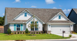 Exterior Shaw Homes 23103 E. 101st Pl. S. Jasmine In Highland Creek Broken Arrow, Oklahoma 74014 (2)