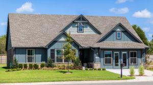 Exterior Shaw Homes 23107 E. 101st Pl. S. Gardenia In Highland Creek Broken Arrow, Oklahoma 74014 (2)