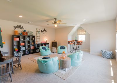 Game Room 1 Monroe In The Estates At The River Shaw Tulsa New Home Builder