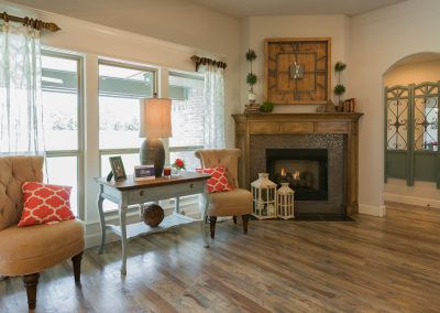 Great Room 2 Monroe In The Estates At The River Shaw Tulsa New Home Builder