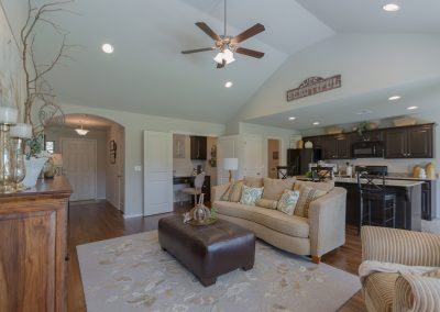 Great Room 2 Shaw New Homes Tulsa 3805 N. 33rd St. Birkdale In Silver Leaf Broken Arrow, Oklahoma