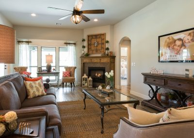 Great Room 3 Monroe In The Estates At The River Shaw Tulsa New Home Builder