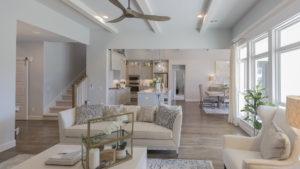 Great Room 3033 Birchwood Cir, Edmond, OK 73007 Shaw Homes Redford 1H Model Home (6)