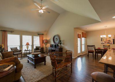 Great Room 4 Shaw New Homes Tulsa 13001 E. 43rd Street South Tulsa, Oklahoma