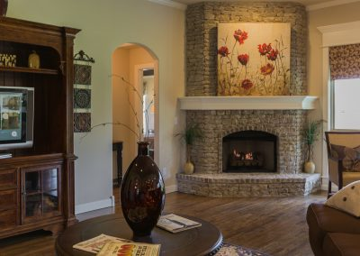 Great Room 5 Fireplace Shaw 6672 E. 125th St. S. Wyndham In Seven Lakes Bixby, Oklahoma