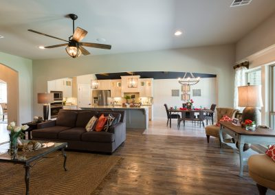 Great Room 5 Monroe In The Estates At The River Shaw Tulsa New Home Builder