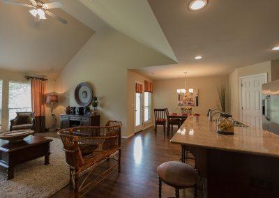 Great Room 5 Shaw New Homes Tulsa 13001 E. 43rd Street South Tulsa, Oklahoma