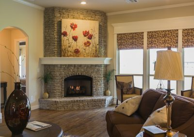 Great Room 6 Fire Place Shaw 6672 E. 125th St. S. Wyndham In Seven Lakes Bixby, Oklahoma