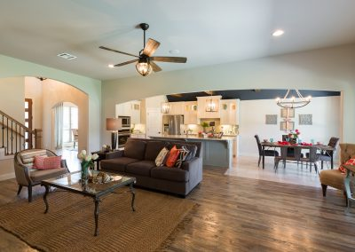 Great Room 6 Monroe In The Estates At The River Shaw Tulsa New Home Builder