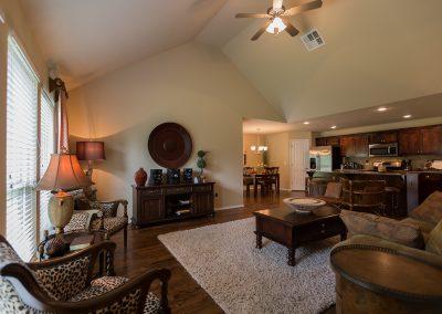 Great Room 7 Shaw New Homes Tulsa 13001 E. 43rd Street South Tulsa, Oklahoma
