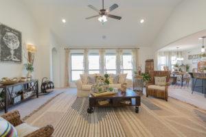 Great Room Shaw Homes 23107 E. 101st Pl. S. Gardenia In Highland Creek Broken Arrow, Oklahoma 74014 (2)