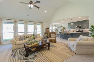 Great Room Shaw Homes 23107 E. 101st Pl. S. Gardenia In Highland Creek Broken Arrow, Oklahoma 74014 (3)