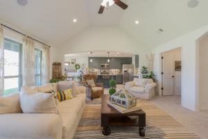 Great Room Shaw Homes 23107 E. 101st Pl. S. Gardenia In Highland Creek Broken Arrow, Oklahoma 74014 (4)