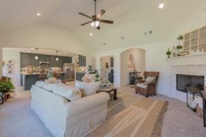 Great Room Shaw Homes 23107 E. 101st Pl. S. Gardenia In Highland Creek Broken Arrow, Oklahoma 74014 (5)