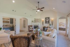Great Room Shaw Homes 23107 E. 101st Pl. S. Gardenia In Highland Creek Broken Arrow, Oklahoma 74014 (6)
