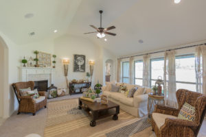 Great Room Shaw Homes 23107 E. 101st Pl. S. Gardenia In Highland Creek Broken Arrow, Oklahoma 74014 (7)