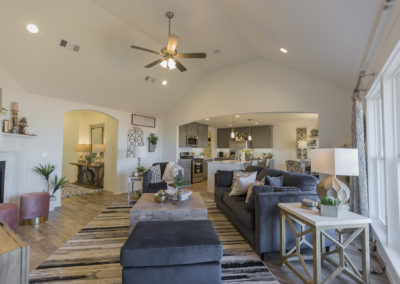 Great Room Shaw Homes 8201 NW 151st Terrace Jasmine In Twin Silos Oklahoma City, OK (2)