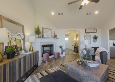 Great Room Shaw Homes 8201 NW 151st Terrace Jasmine In Twin Silos Oklahoma City, OK (3)