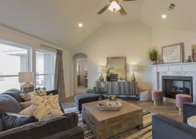 Great Room Shaw Homes 8201 NW 151st Terrace Jasmine In Twin Silos Oklahoma City, OK (4)