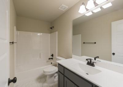 Hall Bath Downstairs 8216 NW 151st St, Oklahoma City, OK Magnolia Twin Silos
