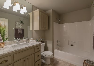 Hall Bath Shaw 3619 S Fir Blvd Ave Monroe In Village At Southern Trails Broken Arrow, Oklahoma