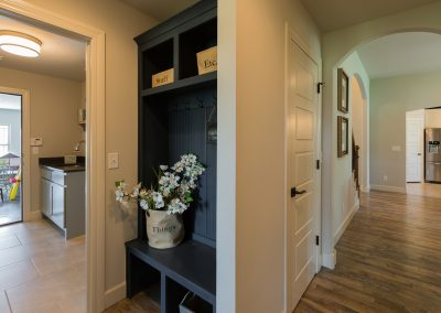 Hall Closet 1 Closed Monroe In The Estates At The River Shaw Tulsa New Home Builder