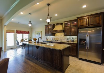 Kitchen 1 Shaw 6672 E. 125th St. S. Wyndham In Seven Lakes Bixby, Oklahoma
