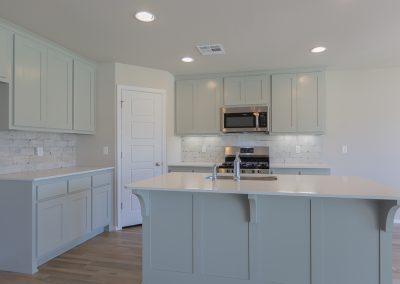 Kitchen 1 Shaw Homes 6700 S 20th Pl Ellington In Tucson Village Broken Arrow, Oklahoma