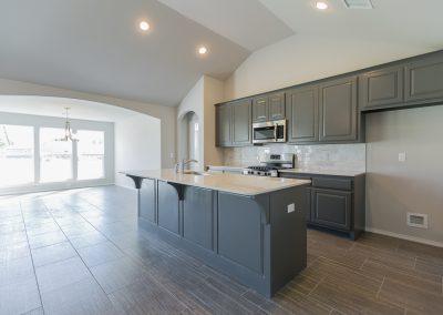 Kitchen 1 Shaw Homes 6709 S 20th St Liberty In Tucson Village Broken Arrow, Oklahoma