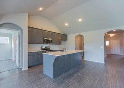 Kitchen 2 Shaw Homes 6709 S 20th St Liberty In Tucson Village Broken Arrow, Oklahoma