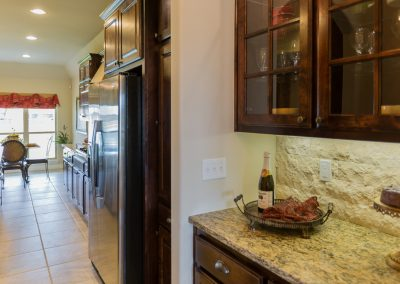Kitchen 7 Butlers Pantry Shaw 6672 E. 125th St. S. Wyndham In Seven Lakes Bixby, Oklahoma