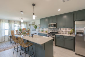 Kitchen Shaw Homes 23107 E. 101st Pl. S. Gardenia In Highland Creek Broken Arrow, Oklahoma 74014 (1)
