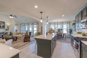 Kitchen Shaw Homes 23107 E. 101st Pl. S. Gardenia In Highland Creek Broken Arrow, Oklahoma 74014 (6)