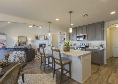 Kitchen Shaw Homes 8201 NW 151st Terrace Jasmine In Twin Silos Oklahoma City, OK (3)