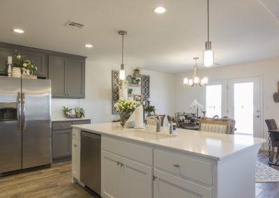 Kitchen Shaw Homes 8201 NW 151st Terrace Jasmine In Twin Silos Oklahoma City, OK (6)
