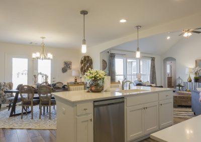 Kitchen Shaw Homes 8201 NW 151st Terrace Jasmine In Twin Silos Oklahoma City, OK (7)