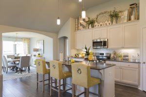 Kitchen Shaw Homes Kincaid In Pinnacle 3100 Brookstone Ridge Blvd Yukon, OK 73099 (3)