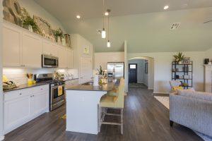 Kitchen Shaw Homes Kincaid In Pinnacle 3100 Brookstone Ridge Blvd Yukon, OK 73099 (6)